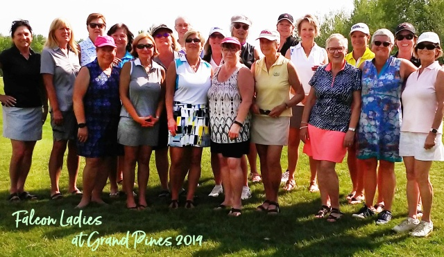 Falcon Ladies at Grand Pines